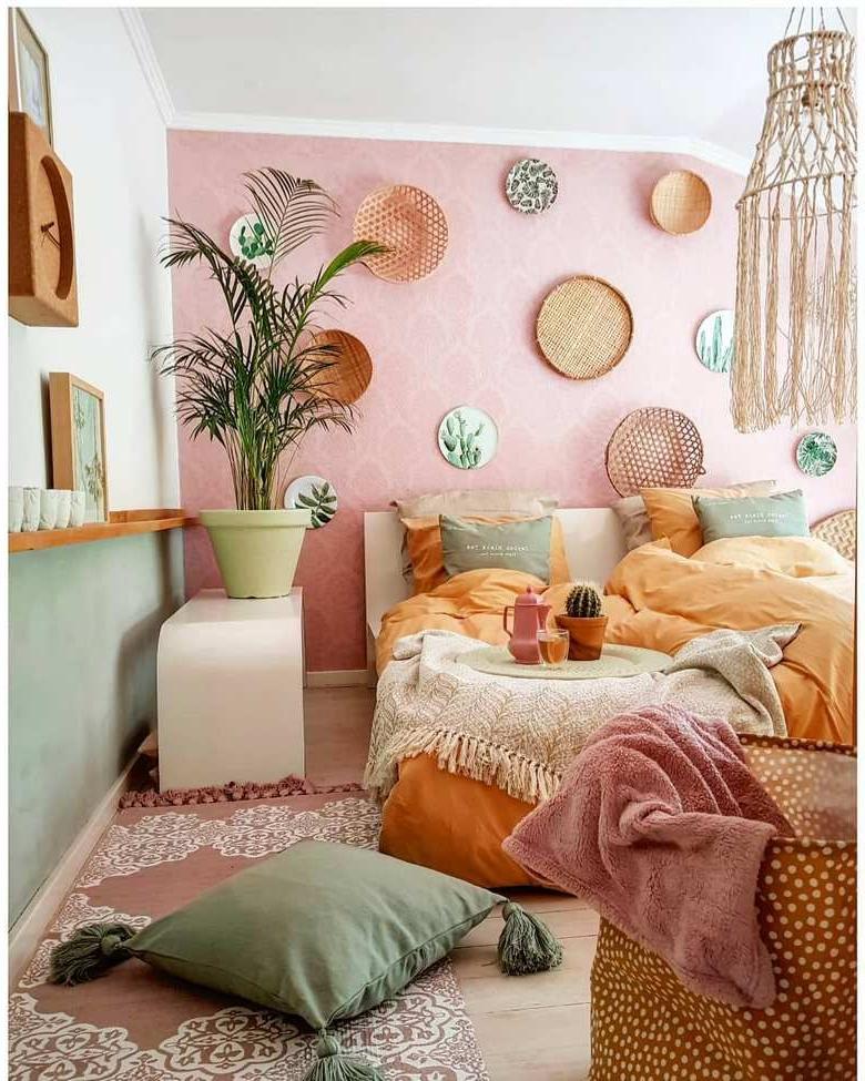 60 Enthralling Bohemian Style Home Decor Ideas Cozy Dorm