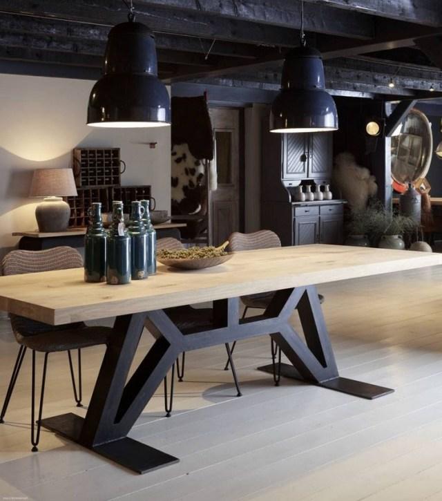 60 Vintage Wood Industrial Furniture Design Ideas