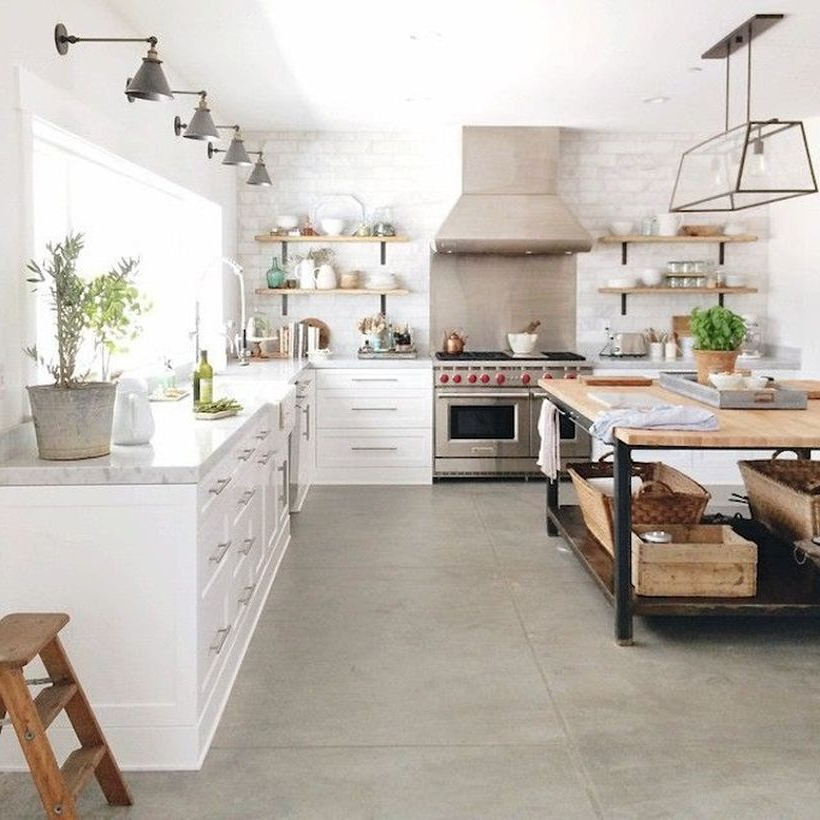 65 Rustic Kitchen Farmhouse Style Ideas That You Must See
