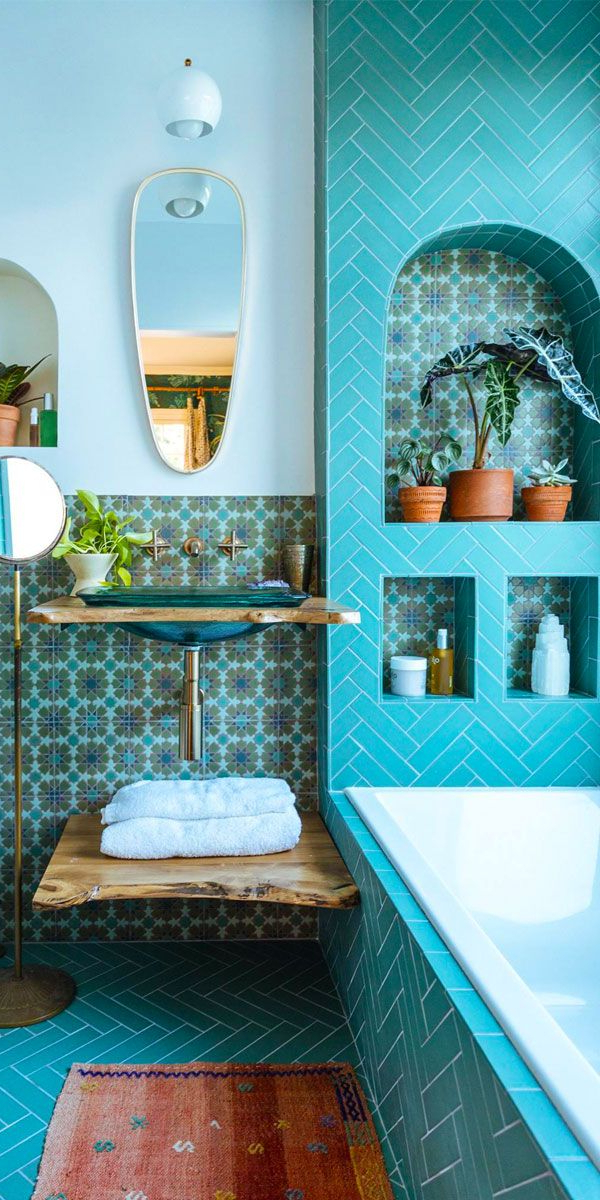 7 Unique Places To Add Pattern Color To Your Home