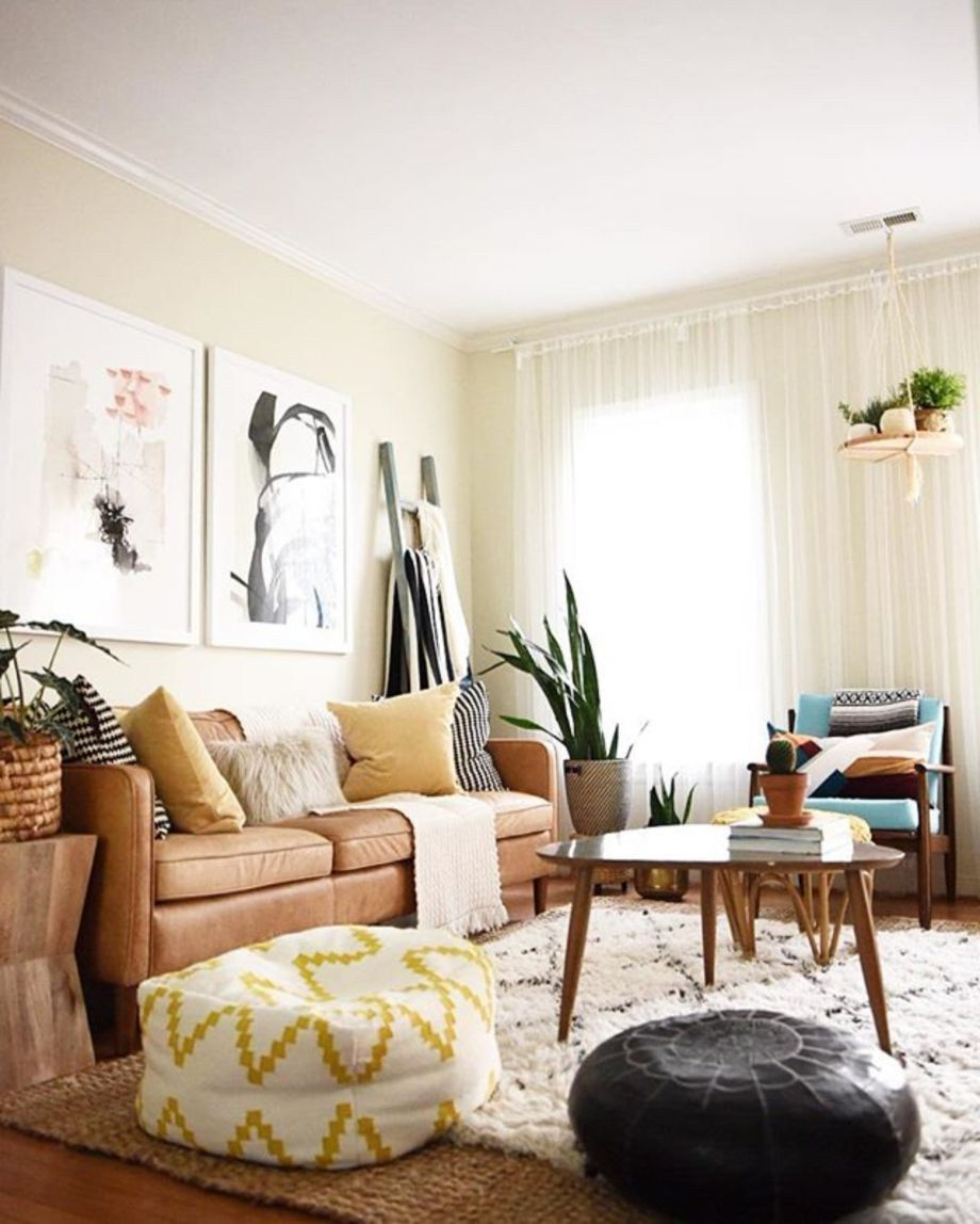 70 Inspiring Bohemian Style Living Room Decor Ideas