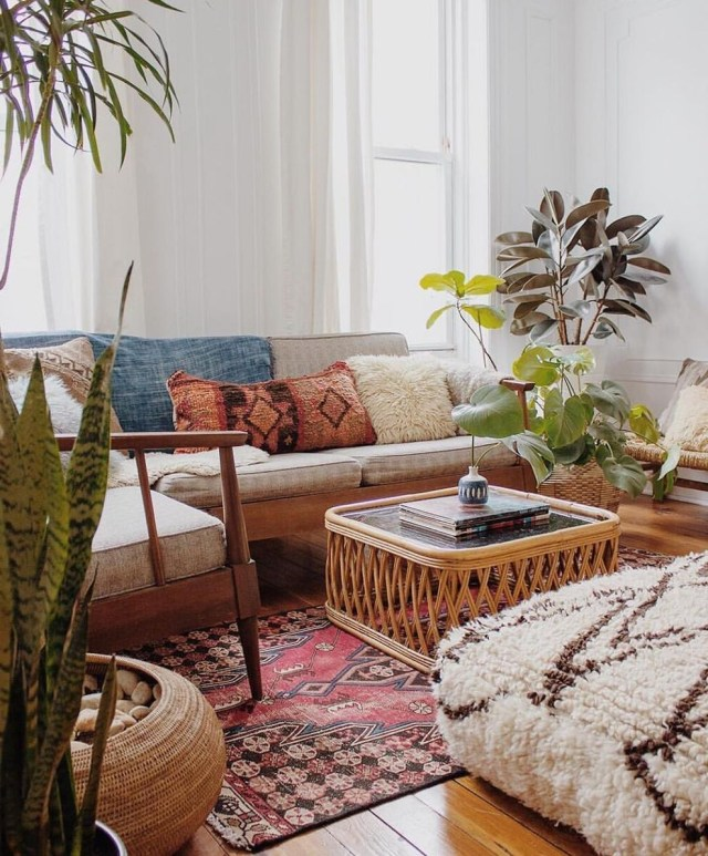 72 Simple And Comfortable Living Room Ideas Boho Living