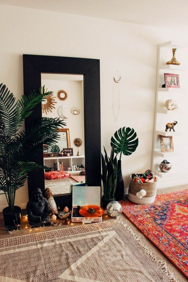 73 Elegant Boho Bedroom Decor Ideas For Small Apartment