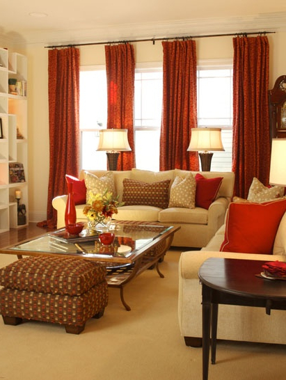 8 Red Room Interior Design Ideas