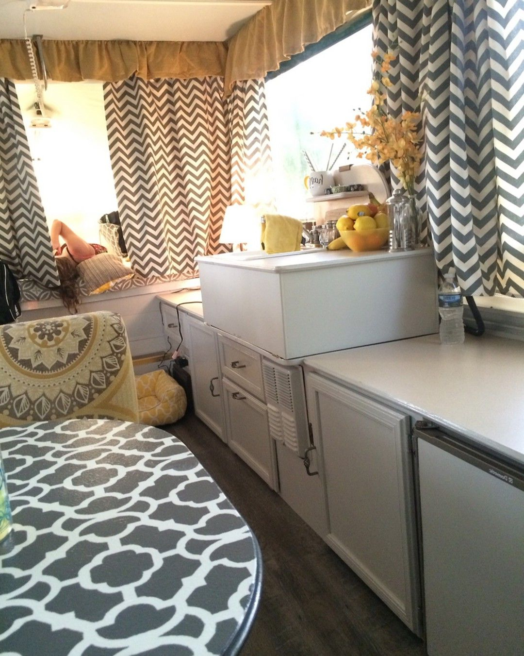 80 Best Rv Camper Interior Remodel Ideas 2 Camper