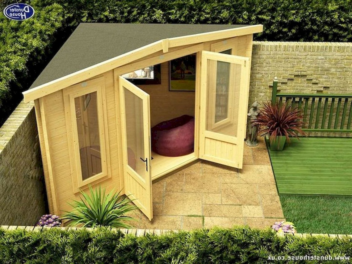 80 Incredible Backyard Storage Shed Makeover Design Ideas