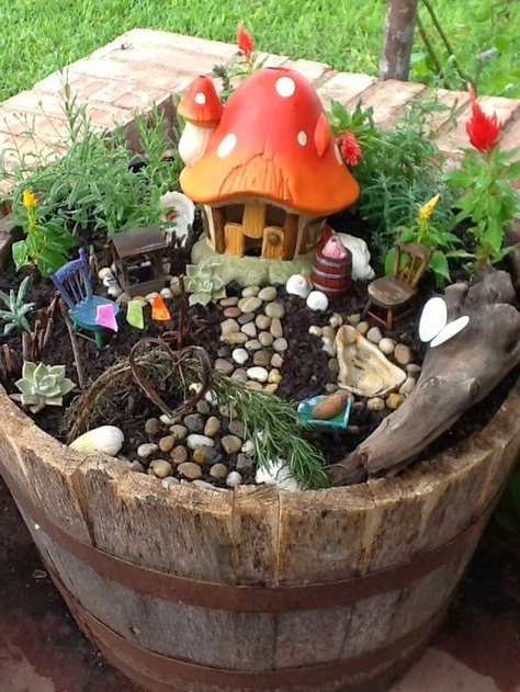 9 Enchanting Fairy Gardens To Build With Your Kids Kids