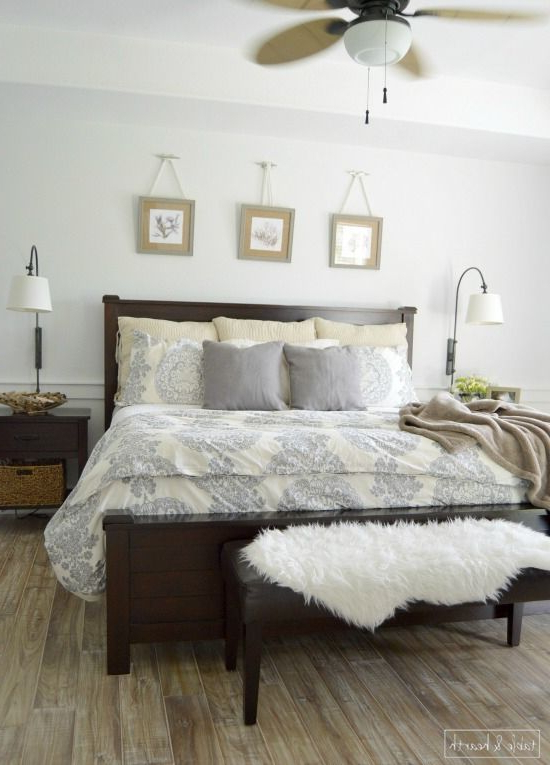 A Calm Fresh And Relaxing Master Bedroom Makeover With