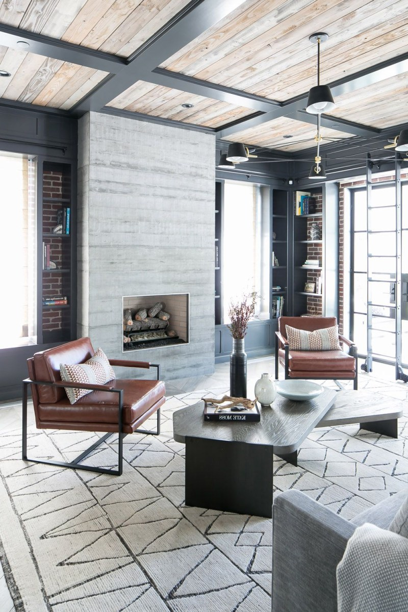 A Modern Industrial And Family First Home Rue Modern