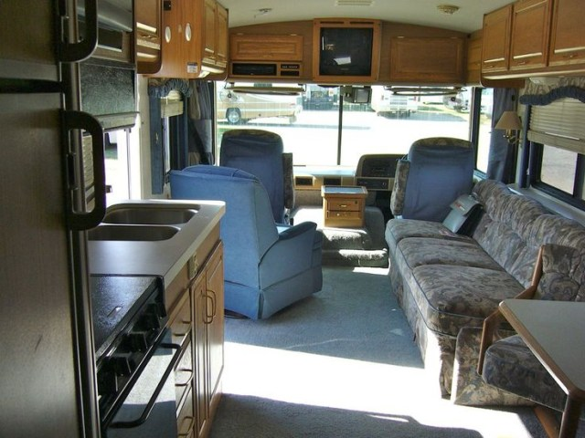 A New Rv Ready For Delivery Minus All The Rv Equipment And