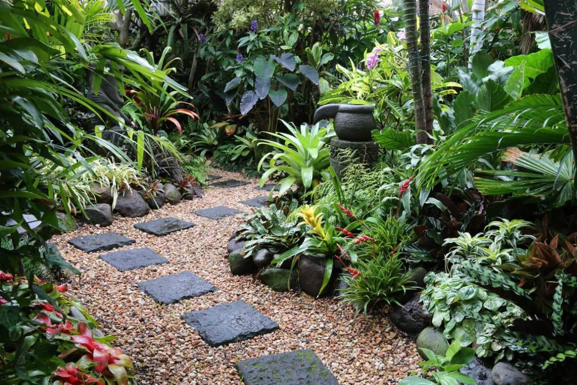 A Tropical Landscape Design Will Give Your House A