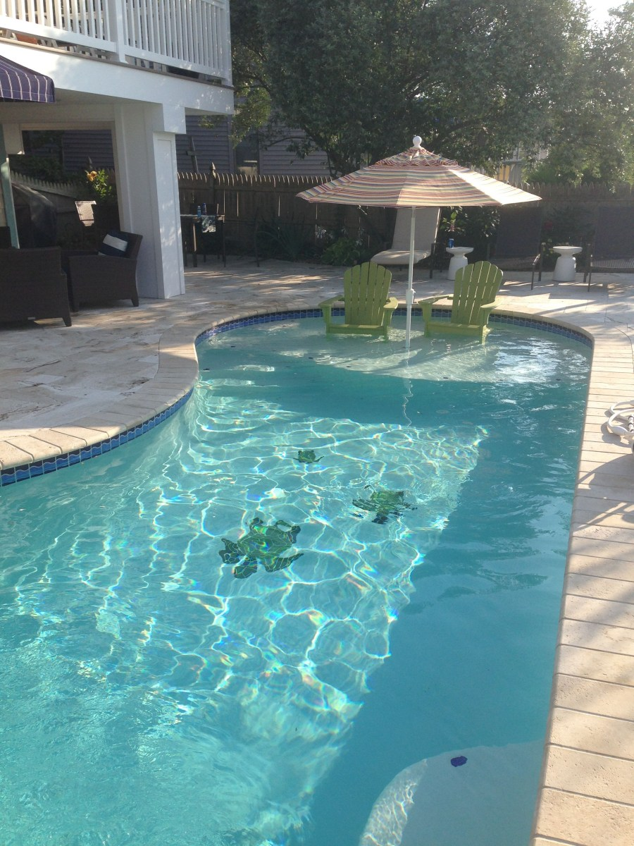 Add A Sun Shelf To Your Pool Fantastic Way To Enjoy The