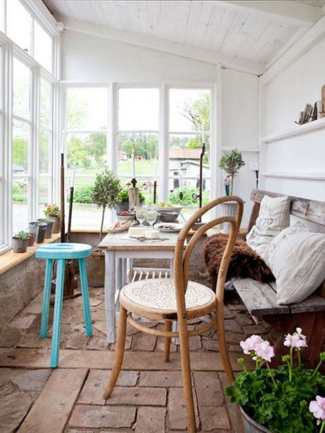 Airy And Inviting Scandinavian Sunrooms Comfydwelling