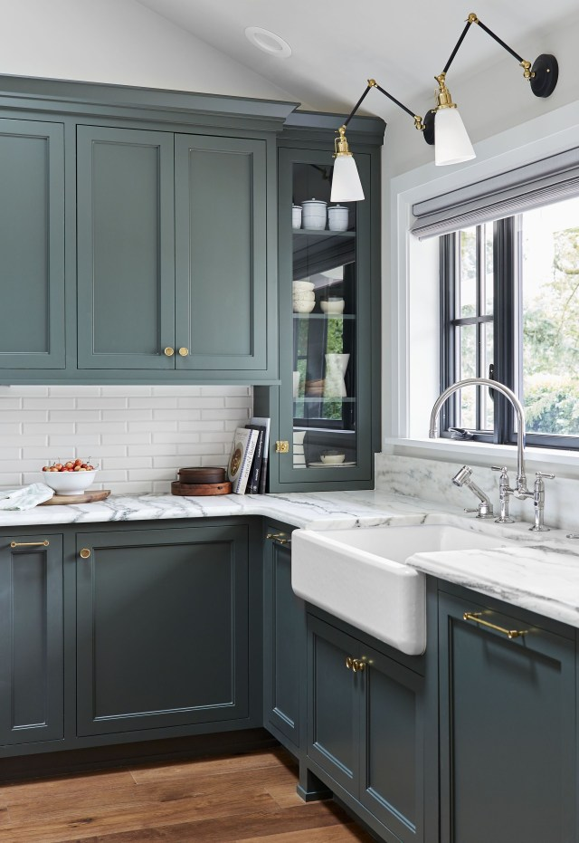 All The Whats Whys How Muchs Of The Portland Kitchen Big Reveal Green Kitchen