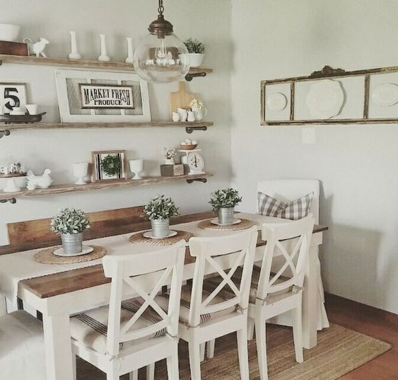 Alluring Farmhouse Dining Room Ideas To Make Cozy Vibe Decortrendy