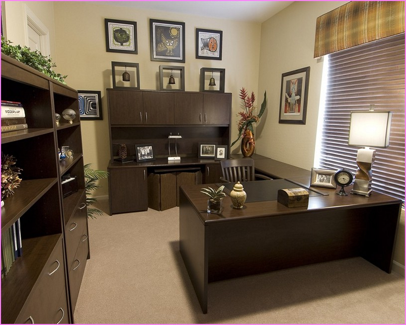 Amazing Ideas For Decorating An Office My Home Small