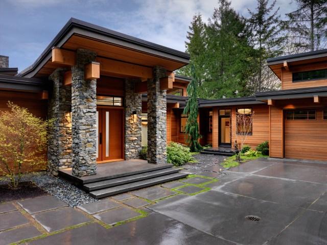 Amazing Interior Woodwork Contemporary Yet Warm House