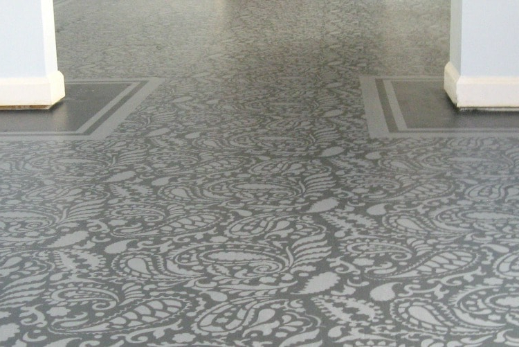 Amazing Painted Plywood Subfloor A How To