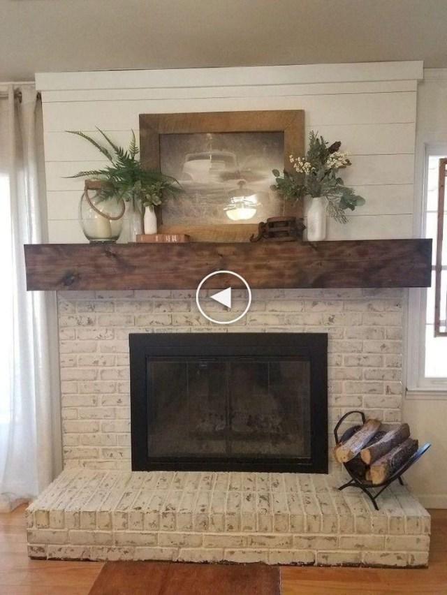 Amazing Rustic Farmhouse Living Room Decorating Ideas 37