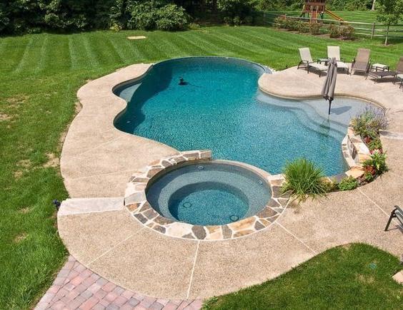 Amazing Small Backyard Designs With Swimming Pool 61 Swimming Pools Backyard Backyard Pool