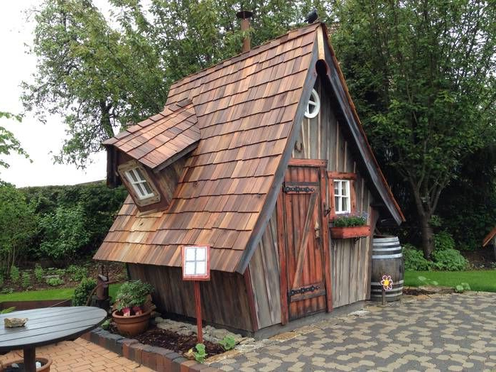 Amazing Wooden Sheds Google Search Crooked House