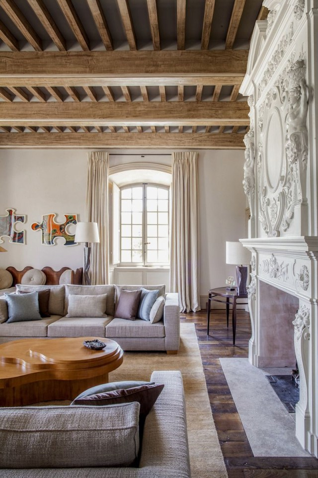Arts And Crafts Living Room In Haut Var France Pierre