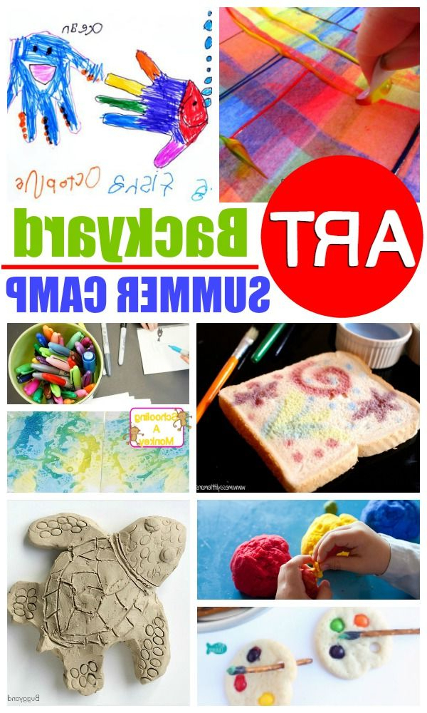 At Home Summer Camp Creative Diy Art Summer Camp Summer