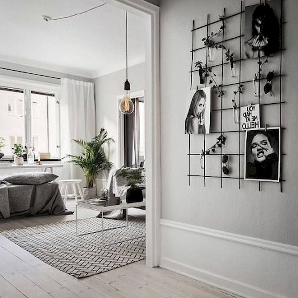 Awesome 40 Modern And Stylish Scandinavian Bedroom Decor