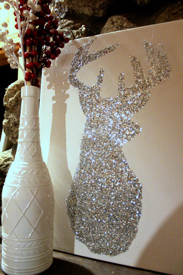Awesome Glitter Diys For Holiday Decoration