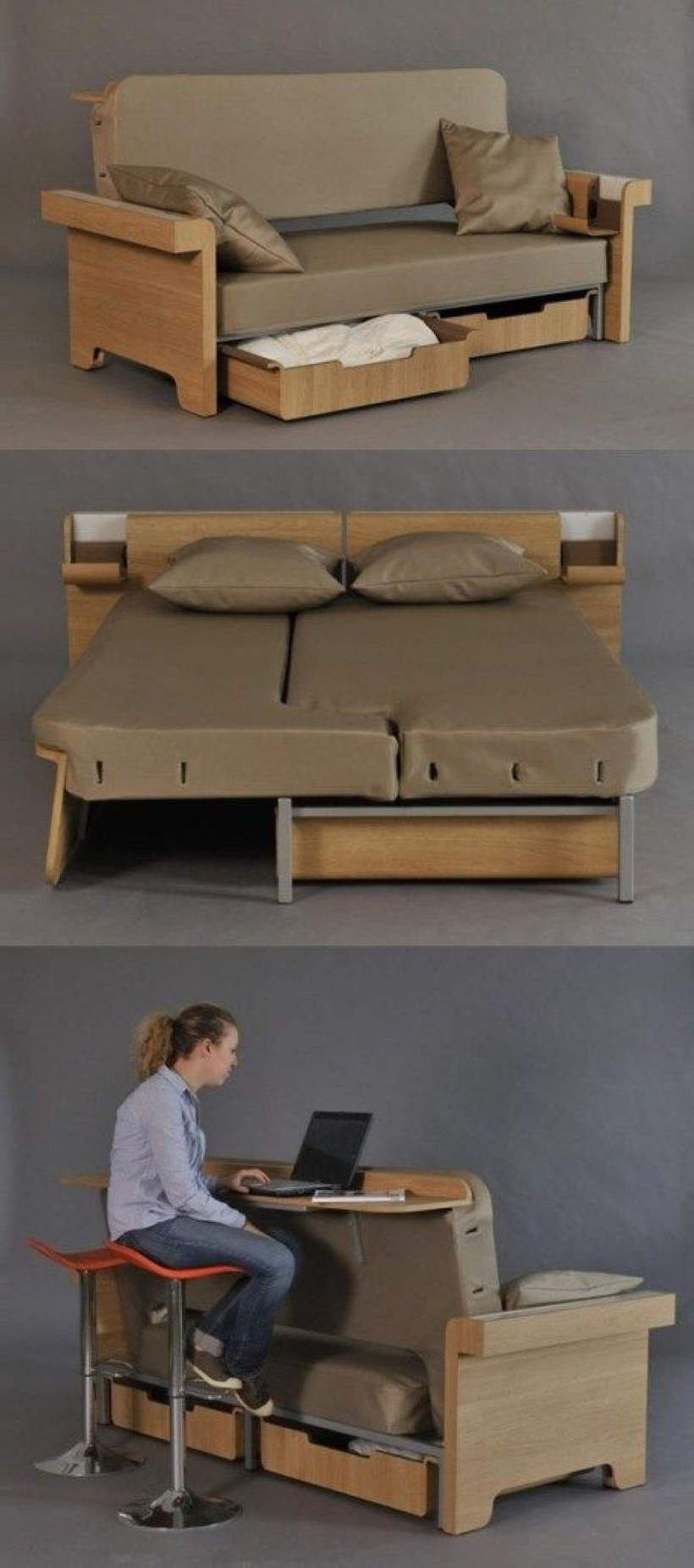 Awesome Multifunctional Bed For Space Saving Modular
