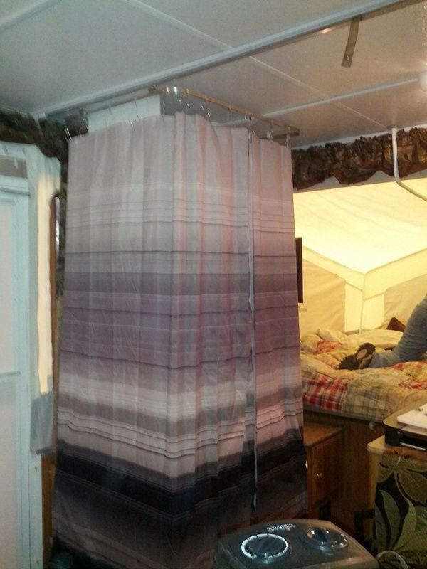 Awesome Pop Up Modifications Remodeled Campers Popup