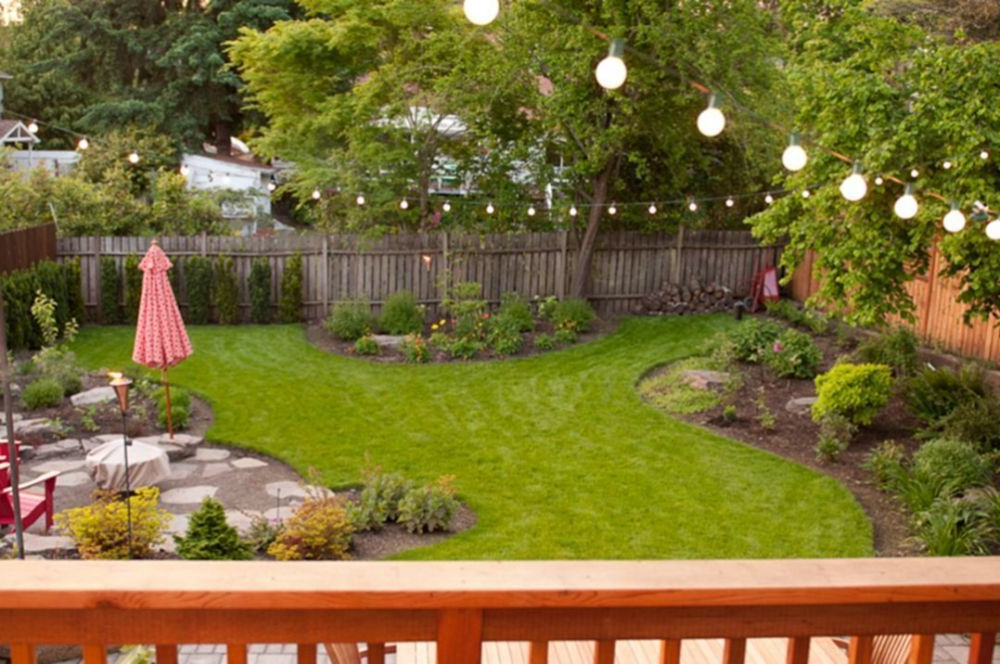Backyard Privacy Fence Landscaping Ideas On A Budget 381