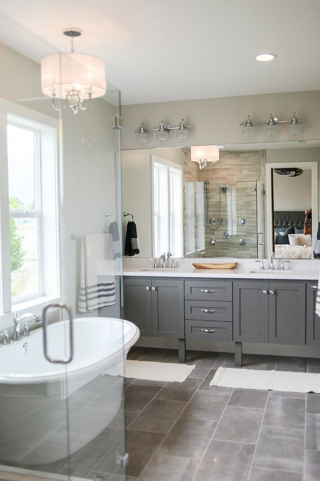 Bathroom Floor Tile Is Reside 1224 Ash Semi Polished