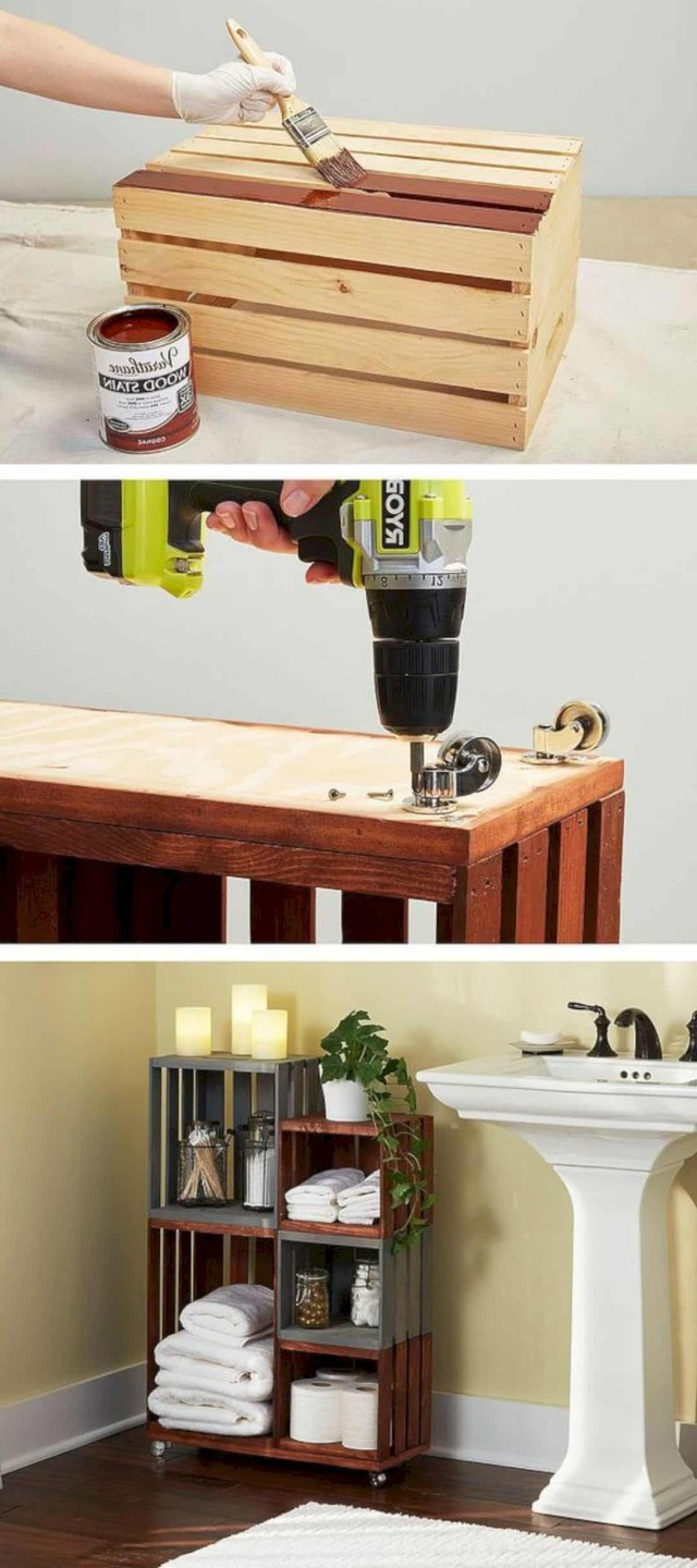 Be Creative With These 15 Diy Bathroom Storage Ideas To