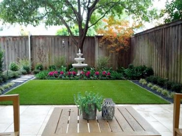 Beautiful Backyard Landscape Design For Outdoor Patio