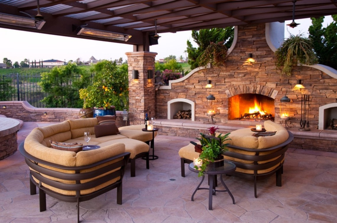 Beautiful Backyard Patio Pool Porch Design Ideas Decks And