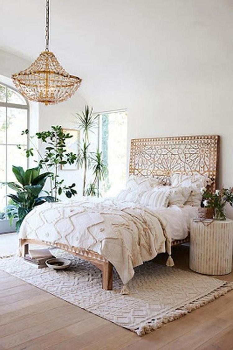 Beautiful Boho Bedroom Decor Ideas With Carpet Home