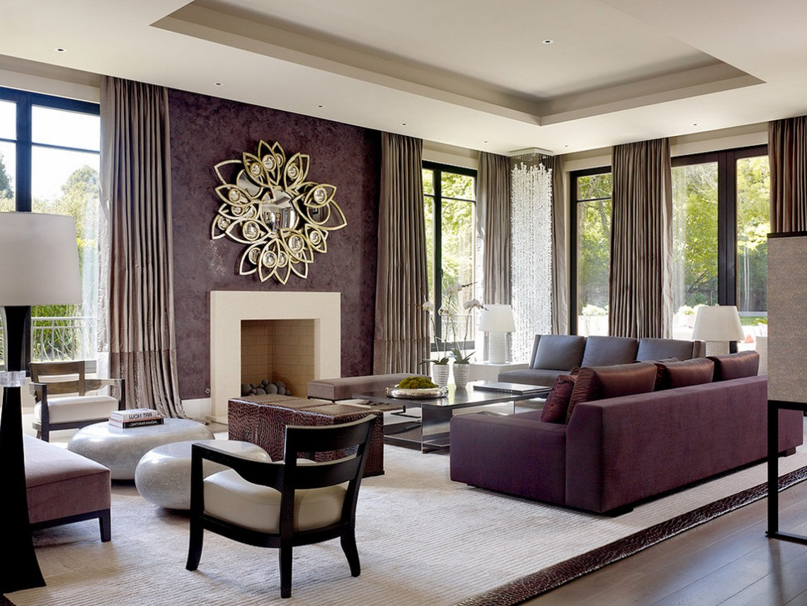 Beautiful Contemporary Living Room Design