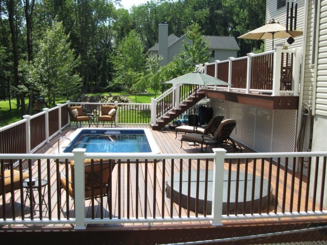 Beautiful Deck Beautiful Endless Pool Endless Pool
