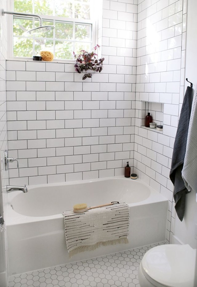 Beautiful Farmhouse Bathroom Remodel From Small Closet Modern Farmhouse Bathroom Bathroom