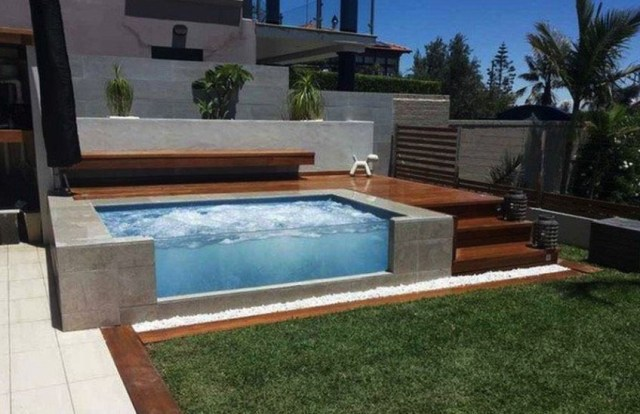 Beauty On A Budget Above Ground Pool Ideas Piscines
