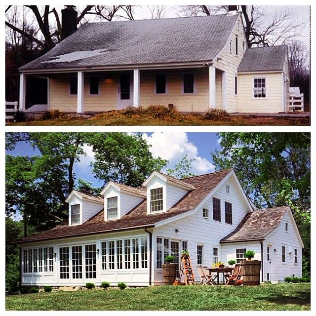 Before And After Farmhouse Renovation Content In A
