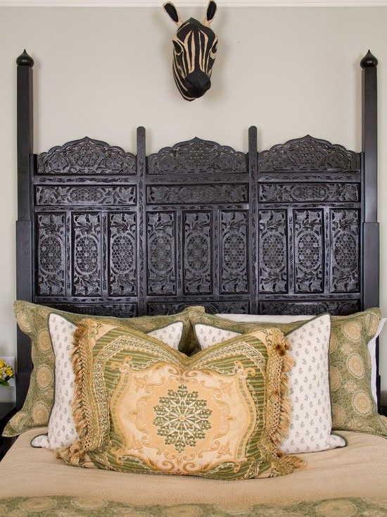 Berber Amazing Headboard Moroccan Style Bedroom