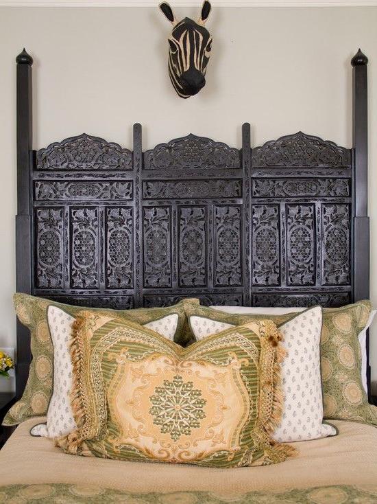 Berber Amazing Headboard Moroccan Style Bedroom