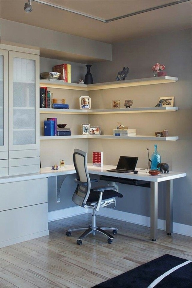 Best 25 Corner Desk Ideas On Pinterest Corner Shelves