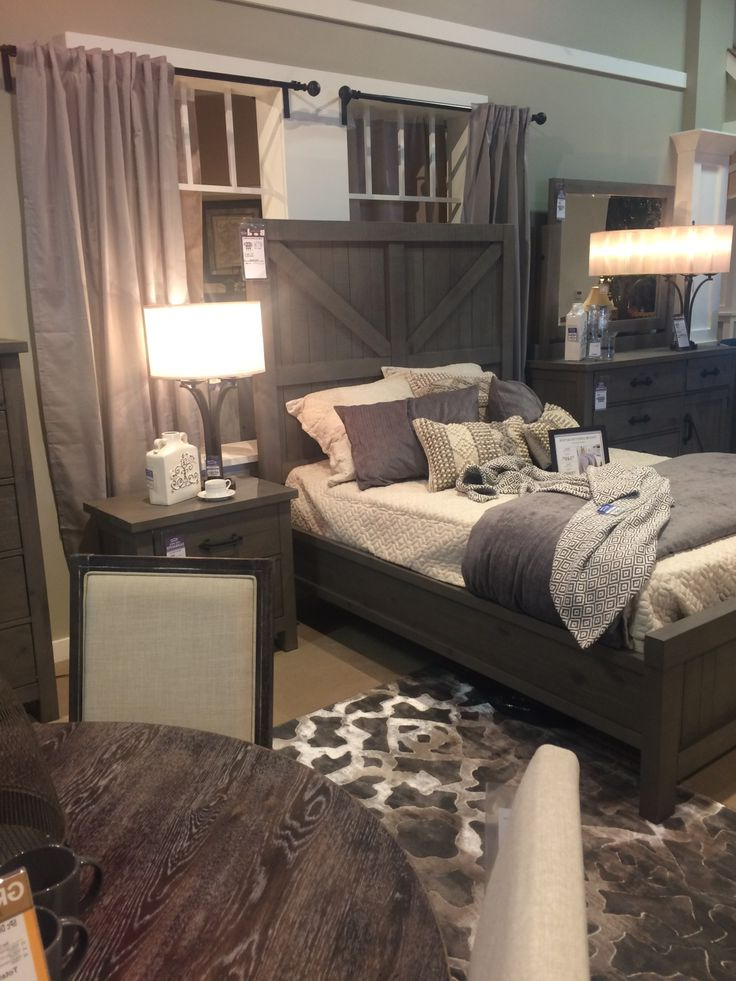 Best 25 Rustic Grey Bedroom Ideas On Pinterest Rustic