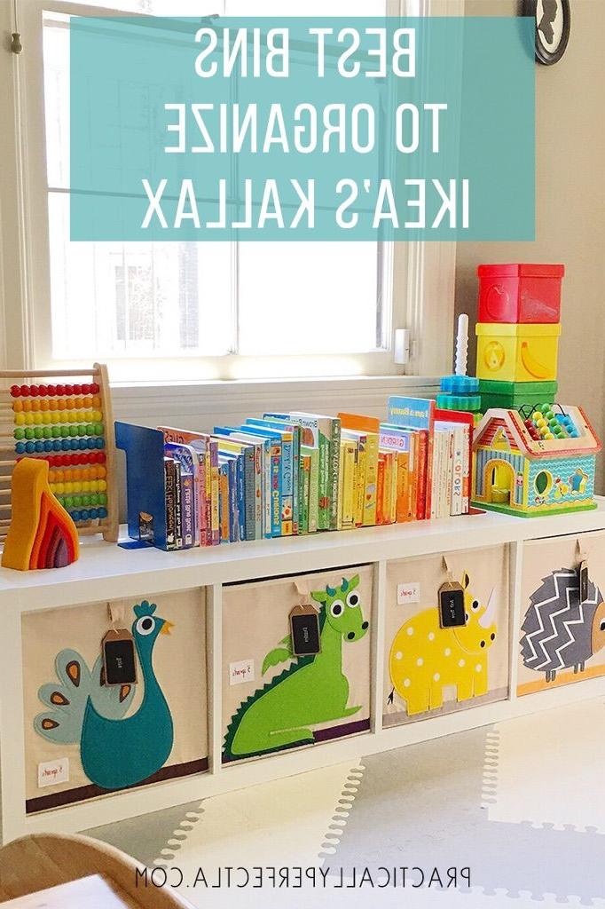 Best Bins To Organize Ikeas Kallax Kids Room Playroom