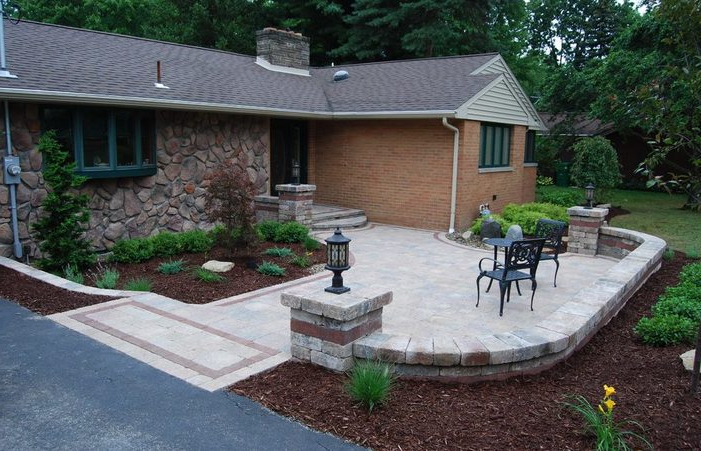 Best Front Patio Ideas Amazing Yard With Porch Small