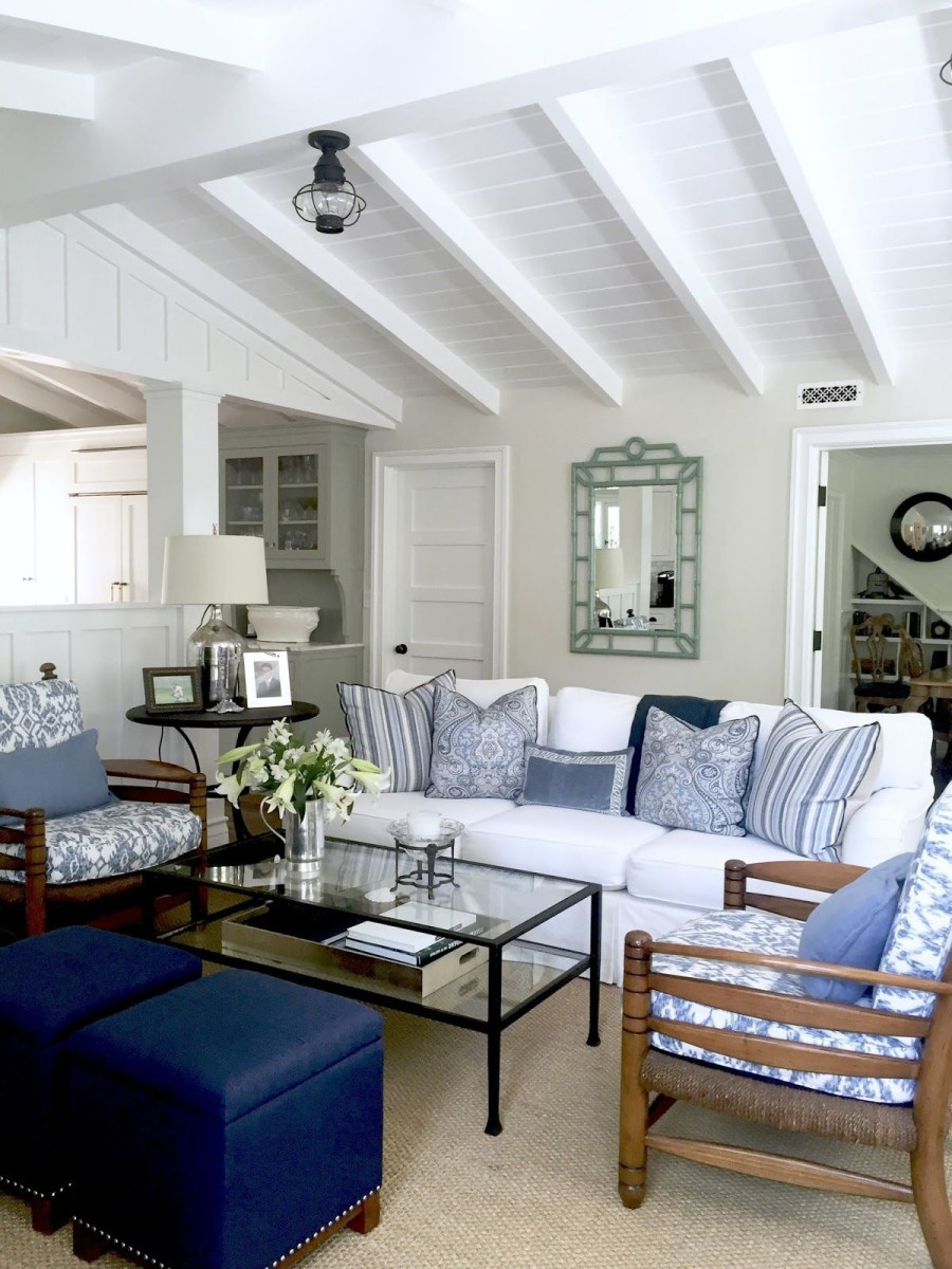 Blue And White Projects And An Easy Weeknight Party Blue