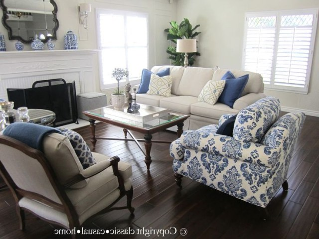 Blue White And Silver Timeless Design Blue White